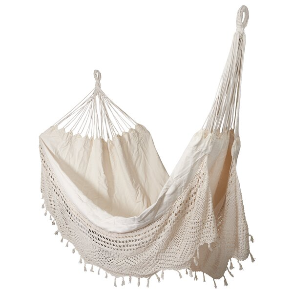 Rawley Crochet Double Tree Hammock by Bungalow Rose