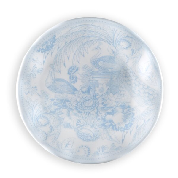 Hampton Toile 5.5 Melamine Bread and Butter Plate (Set of 4) by Q Squared