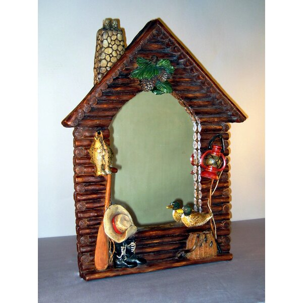 Log Cabin Full Length Mirror by Judith Edwards Designs