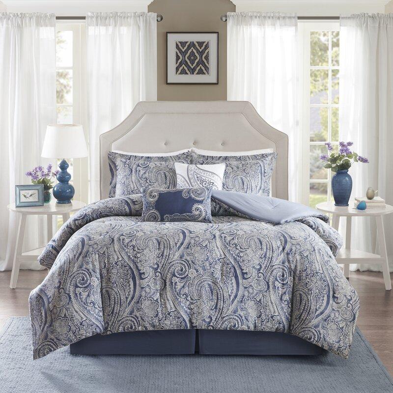 paisley bedding sets you'll love   wayfair