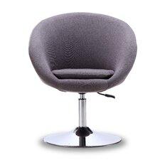 Luz Swivel Barrel Chair by Wade Logan