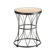 Metal Frame Accent Stool by Zingz & Thingz