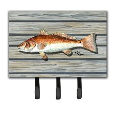 Fish Leash Holder and Key Hook by Caroline's Treasures
