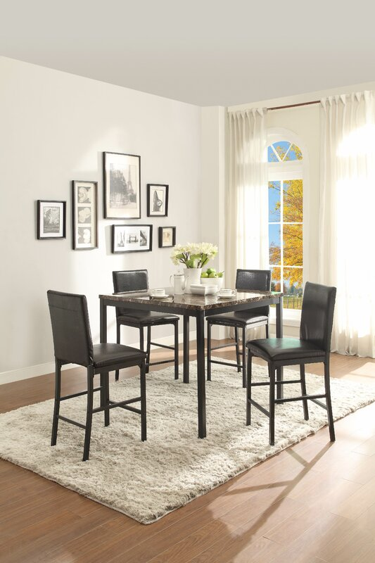 Counter Height Kitchen  Dining Tables Youll Love Wayfair - Counter height dining room tables