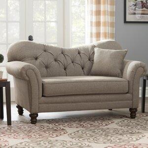 Serta Upholstery Wheatfield Loveseat by Three Posts