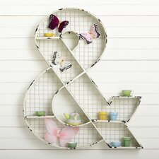 Ampersand Wall Cubby by Birch Lane Kids