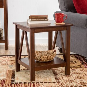 Wilda End Table by Andover Mills