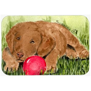 Curly Coated Retriever Kitchen/Bath Mat