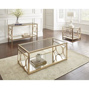 Astor Coffee Table Set by Willa Arlo Interiors Low Price.