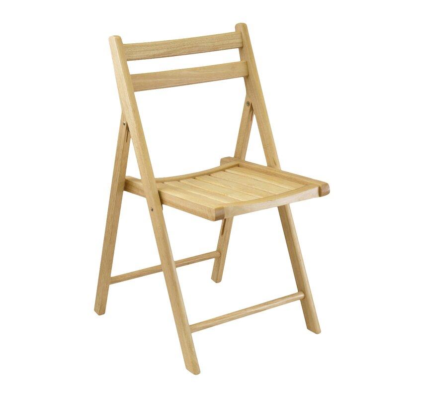 Winsome Folding Chair Set Reviews Wayfair