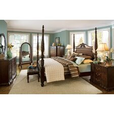 Belmont Queen Four Poster Customizable Bedroom Set by Bernhardt