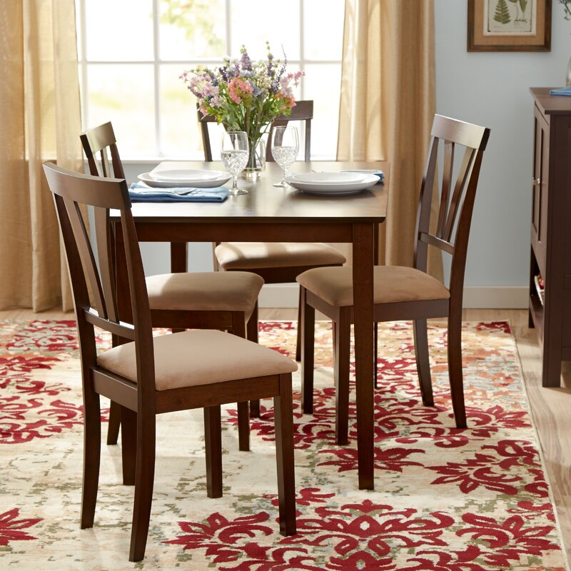 andover mills donald 5 piece dining set & reviews | wayfair