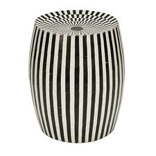 Cylinder Accent Stool by Worlds Away