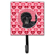 Affenpinscher Leash Holder and Wall Hook by Caroline's Treasures
