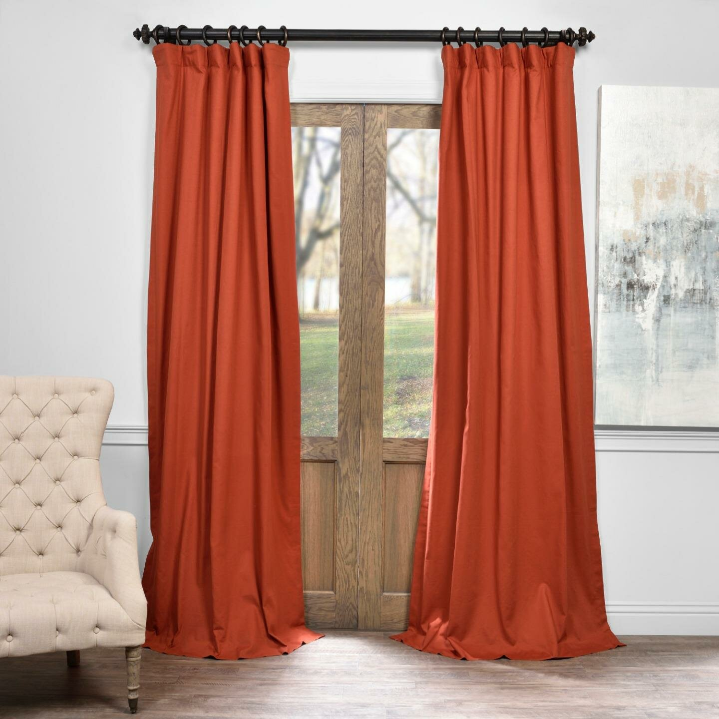Arch Hill Solid Blackout Thermal Pinch Pleat Single Curtain Panel Reviews Birch Lane