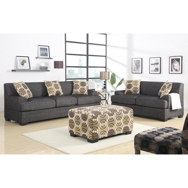 Zipcode Design Mila 2 Piece Living Room Set & Reviews | Wayfair