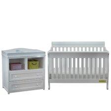 Jaden 3-in-1 Convertible 2 Piece Crib Set