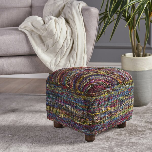 Lisse Ottoman by Ivy Bronx