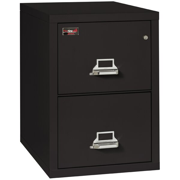 Fireproof 2-Drawer 2-Hour Rated Vertical File Cabinet by FireKing