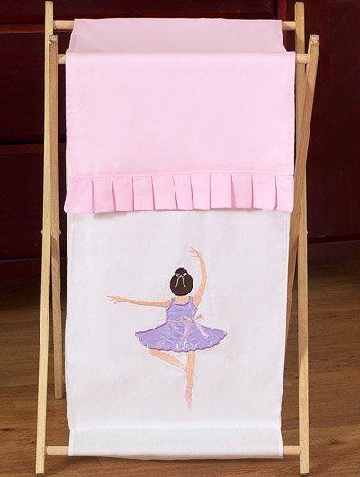 Ballerina Laundry Hamper by Sweet Jojo Designs