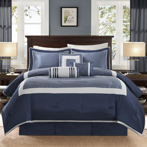 Saint-Laurent 7 Piece Comforter Set by Alcott Hill