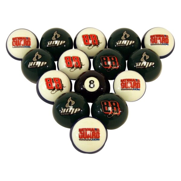 NASCAR Billiard Ball Set by Wave 7