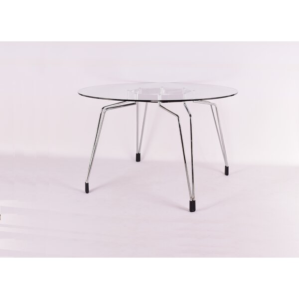 Enos Diamond Dining Table by Orren Ellis