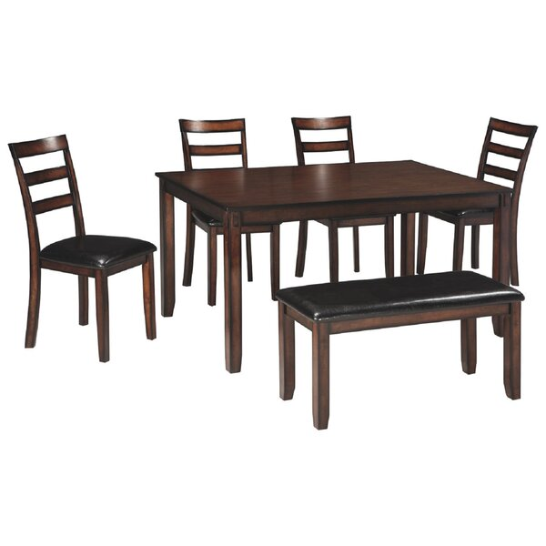 Marcela 6 Piece Dining Set by Canora Grey