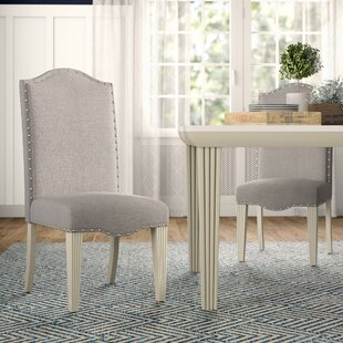 Read Reviews Calila Upholstered Dining Chair (Set of 2) ByBirch Lane™