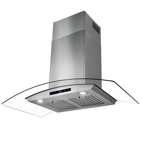 36 343 CFM Convertible Wall Mount Range Hood by AK