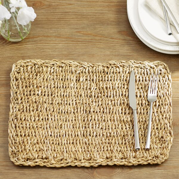 State Line Rectangular Placemat (Set of 8) by Beachcrest Home