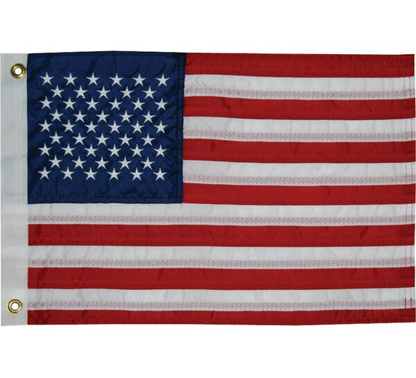 Sewn 50-Star American Traditional Flag by Taylor M
