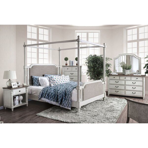Southport Queen Canopy 5 Piece Bedroom Set by Canora Grey