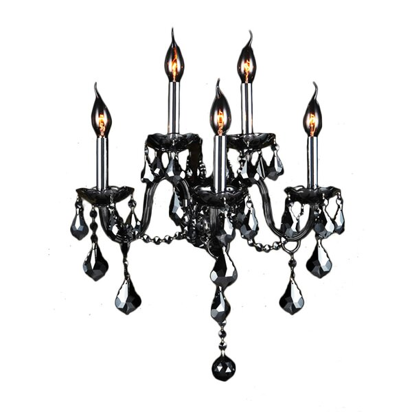 Doggett 5-Light Candle Wall Light by Astoria Grand