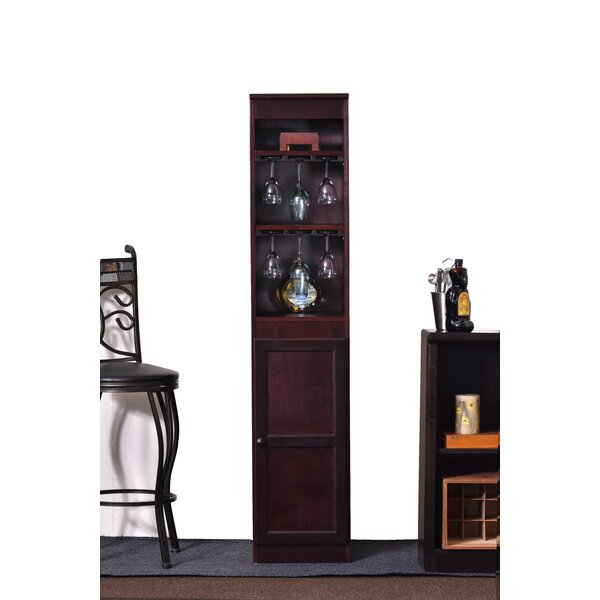 21 Bottle Floor Wine Cabinet by Concepts in Wood