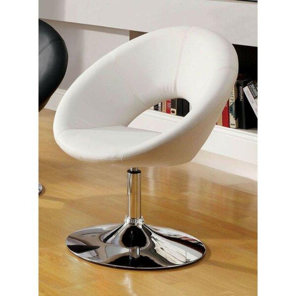 Djerf Swivel Barrel Chair by Orren Ellis