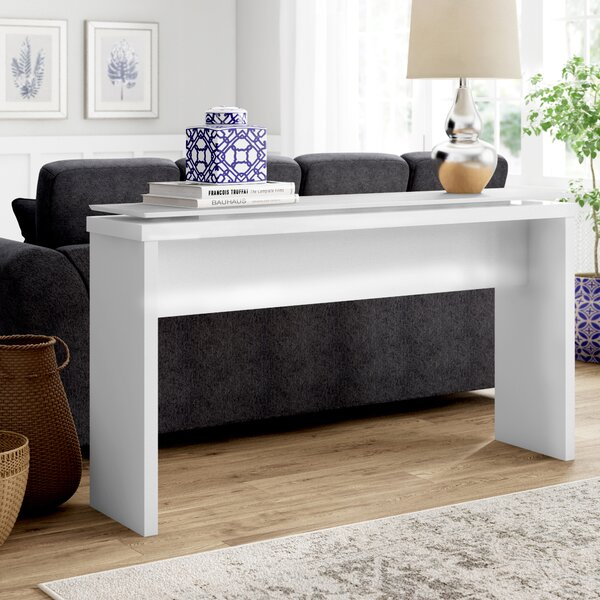 Latitude Run White Console Tables