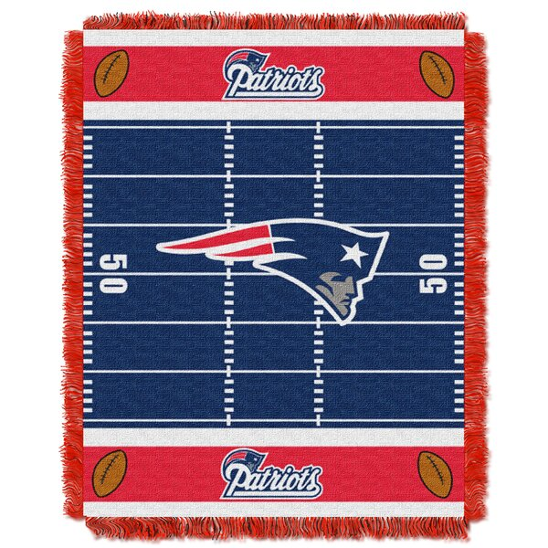 NFL Patriots Field Baby Blanket by Northwest Co.