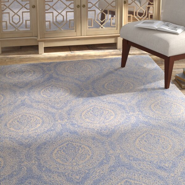 Mellie Hand Tufted Blue Area Rug by Bloomsbury Market
