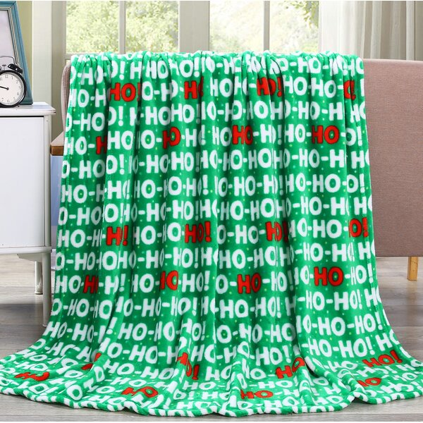 Vivian Holiday Friends Fleece Throw by The Holiday Aisle