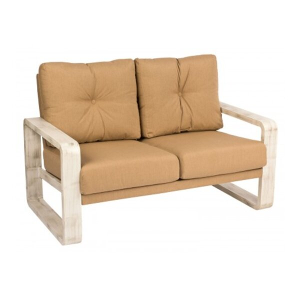 Vale Loveseat with Cushions by Woodard