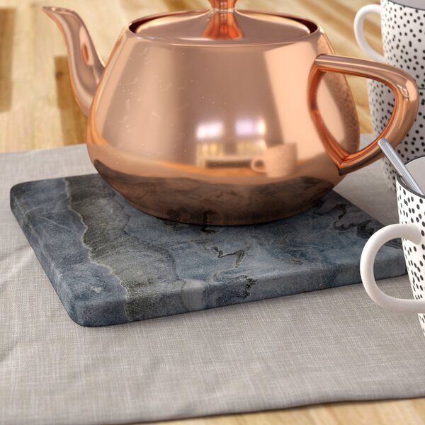 Square Marble Trivet by Mint Pantry