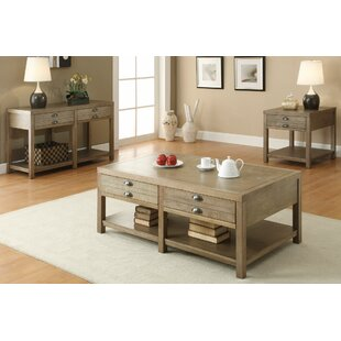 Look for 3 Piece Coffee Table Set By Loon Peak