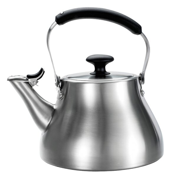 Good Grips 1.7 Quart Stainless Steel Classic Tea Kettle Brushed by OXO