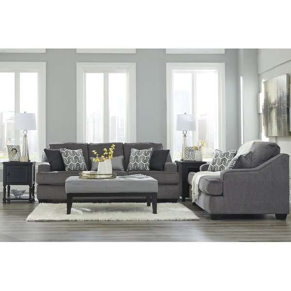 Nicholls Upholstery Living Room Set by Latitude Ru
