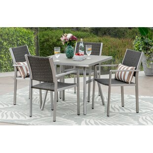 Wendell 5 Piece Dining Set By Orren Ellis