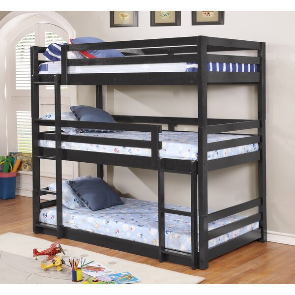 Alemany Twin over Twin Triple Bed by Harriet Bee