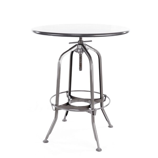Desrochers Adjustable Pub Table by Williston Forge