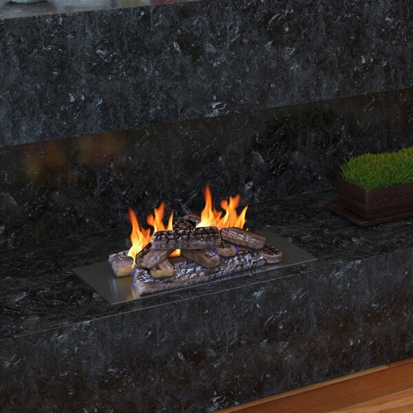 Propane Gel Ethanol or Gas Fireplace Decorative Logs by Regal Flame