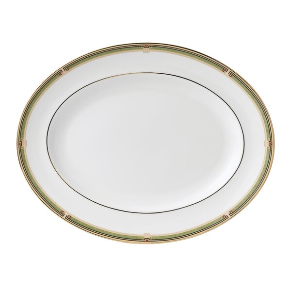 Oberon Oval Platter by Wedgwood